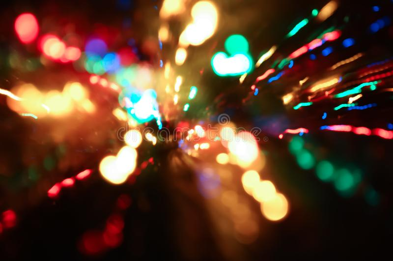 Bokeh sparkling background texture stock photography