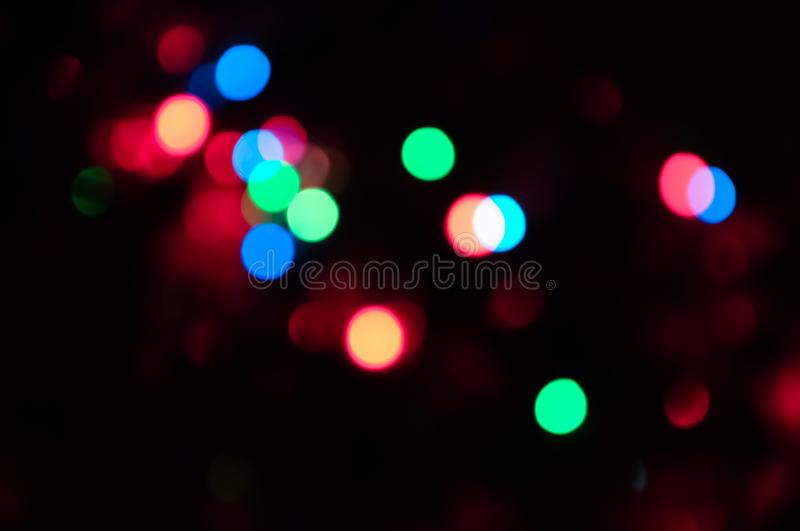Bokeh sparkling circle background texture stock photography