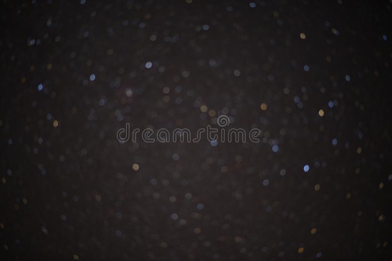 The Bokeh from the stars royalty free stock photos