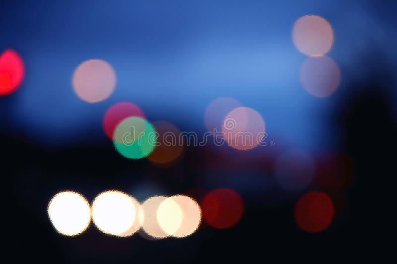 Download Bokeh of Traffic at night stock image. Image of commuters - 27911481