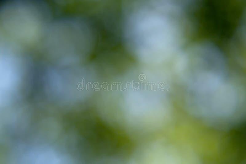 Bokeh verde e blu fotografia stock libera da diritti