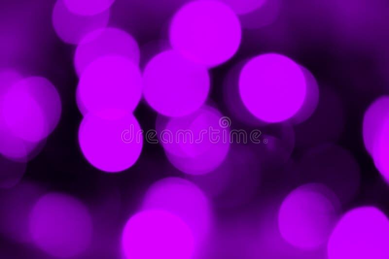 Bokeh viola fotografie stock
