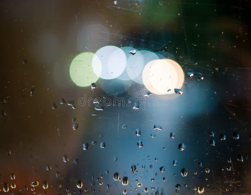 Download Bokeh y descensos imagen de archivo. Imagen de lluvioso - 42441709