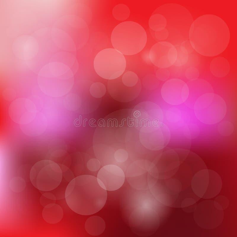 Boken抽象美好的颜色照亮背景 皇族释放例证