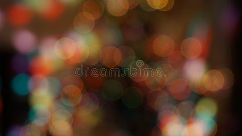 Bokhe di Natale fotografia stock libera da diritti