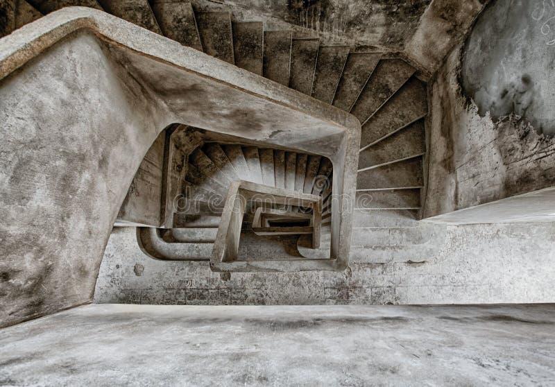 Bokor Palace Hotel - Kampot Cambodia royalty free stock image