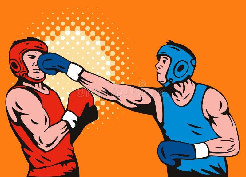 boks royalty ilustracja
