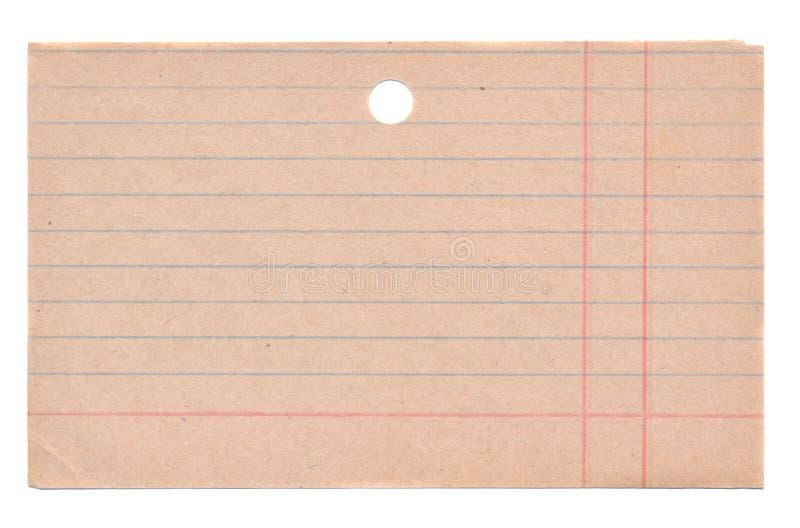 boks gabinetowy karcianej kartoteki odosobniony biblioteczny stary fotografia royalty free