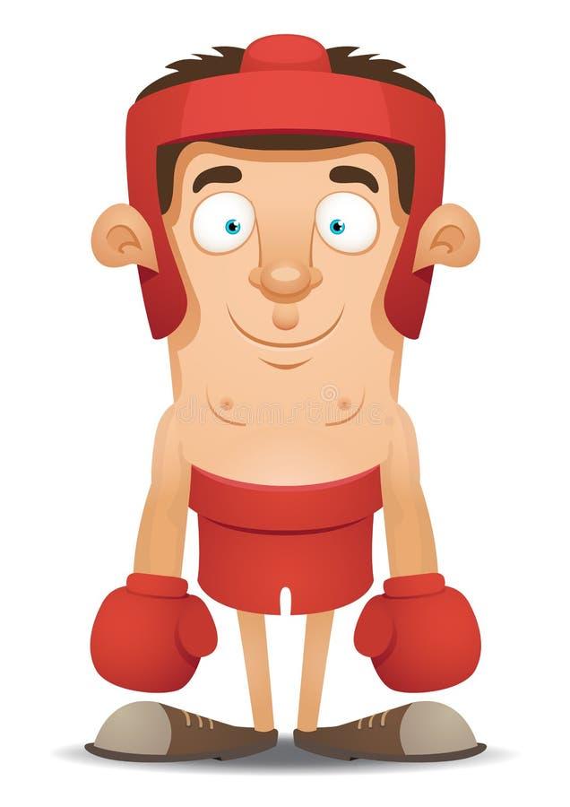 bokser royalty ilustracja