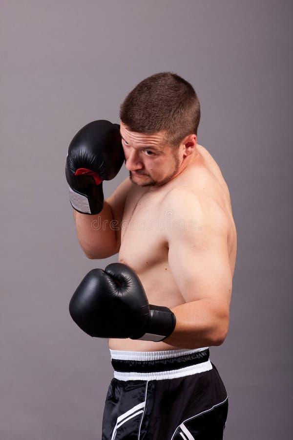 boksera kopnięcie zdjęcie stock