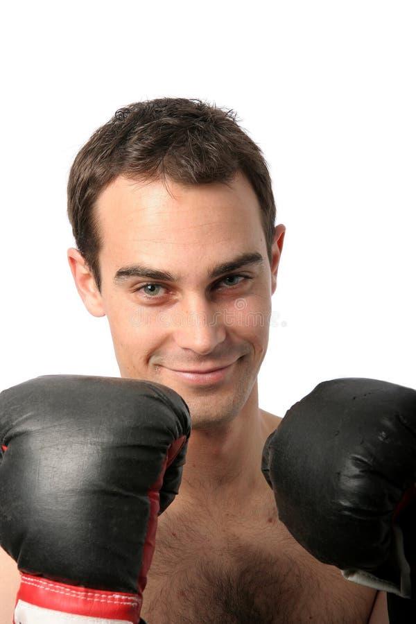 bokserki szczęśliwe młode zdjęcie royalty free