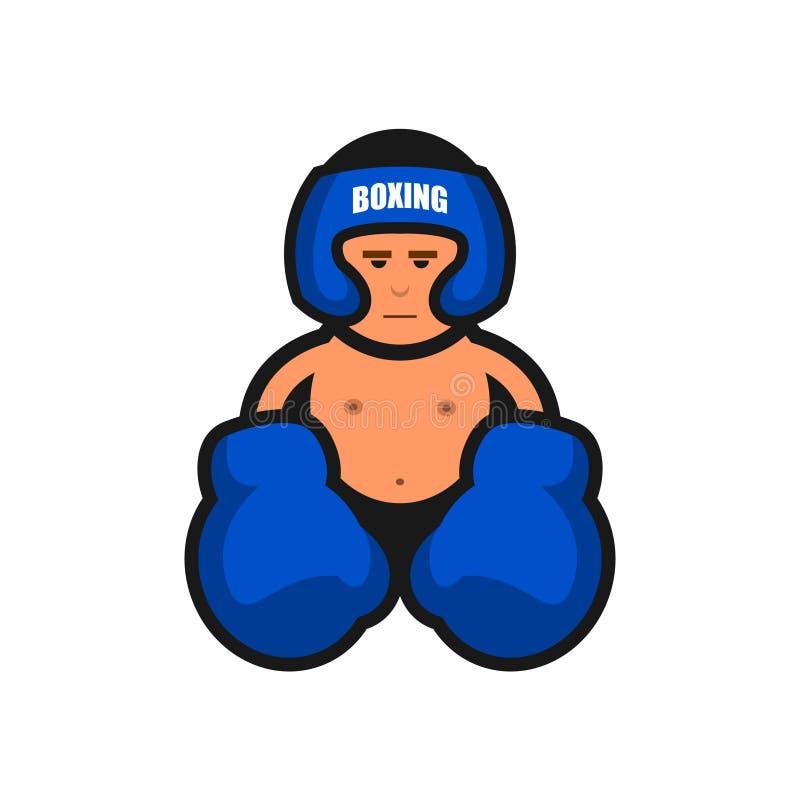 bokserska 3 ikony ilustracji