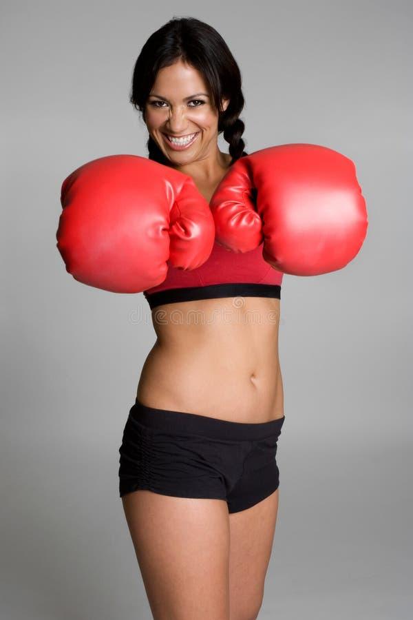 bokserska kobieta zdjęcia royalty free
