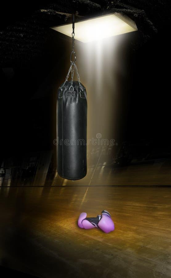 bokserski gym obrazy stock