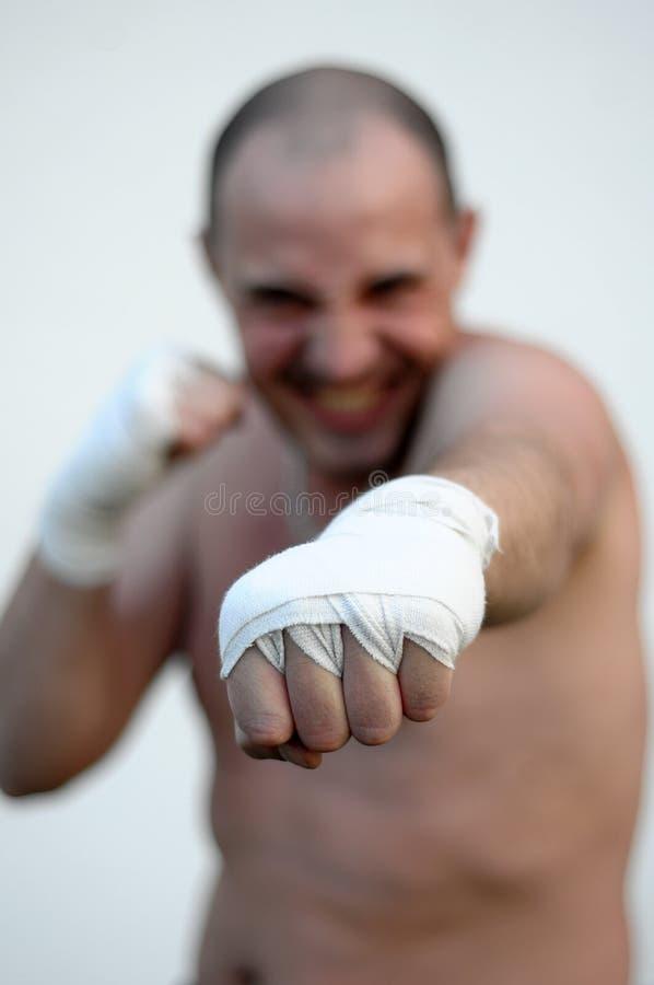 bokserski mężczyzna zdjęcie royalty free