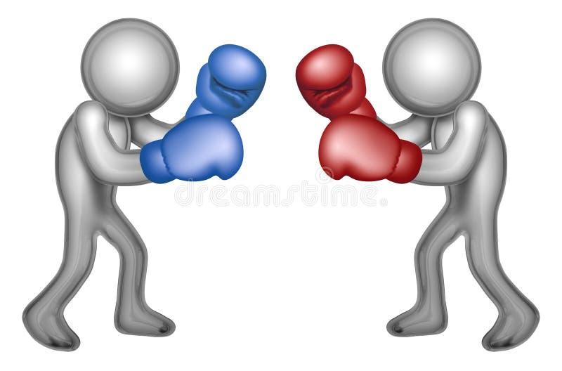 boksery ilustracja wektor