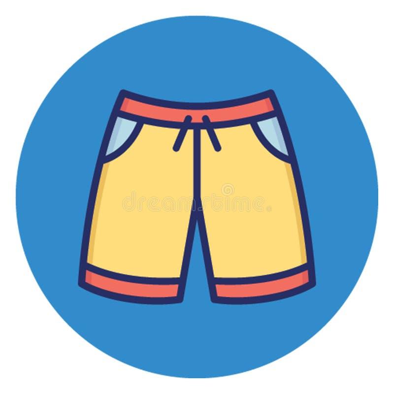 Boksery, knickers Wektorowa ikona która może łatwo redagować ilustracji