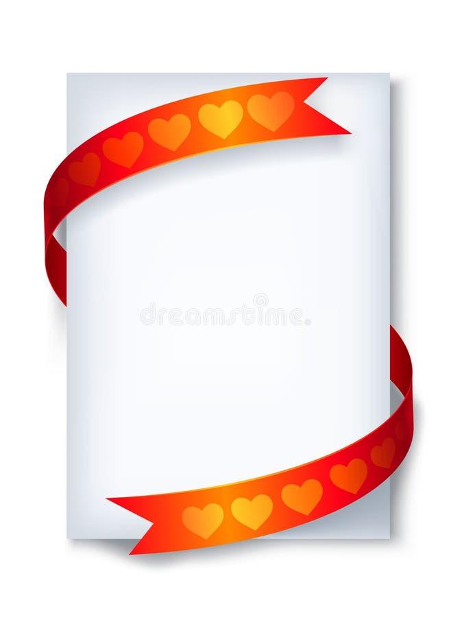 bokstavsförälskelse stock illustrationer