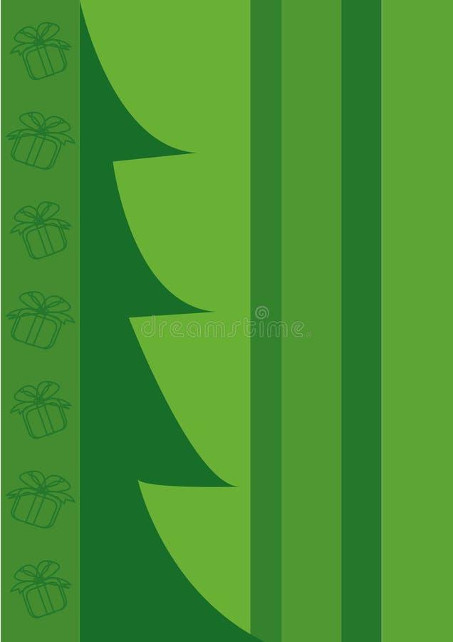 boksuje bożych narodzeń prezenta drzewa ilustracji