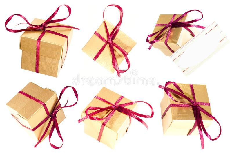boksuje prezent zdjęcie stock