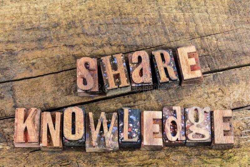 Boktryck för undervisning för aktiekunskapsutbildning arkivfoton