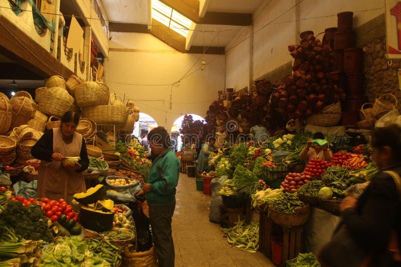 BolÃvia del mercado de Sucre imágenes de archivo libres de regalías