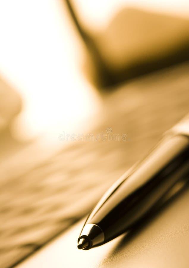 Bolígrafo imagen de archivo