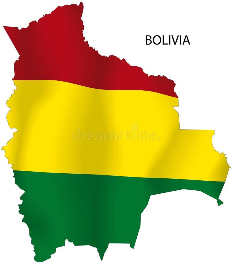 Bolívia ilustração do vetor