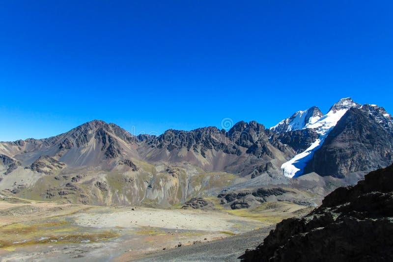 Bolívia Andes fotografia de stock royalty free