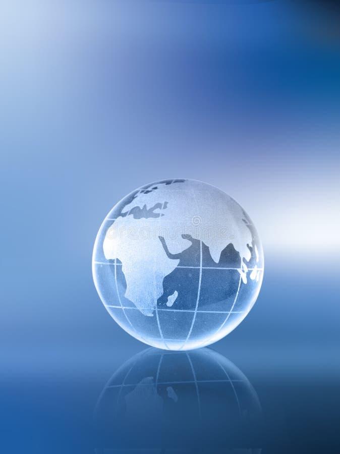Bol-Afrika Azië en Europa royalty-vrije stock afbeelding