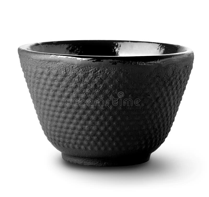 Bol asiatique de thé images stock