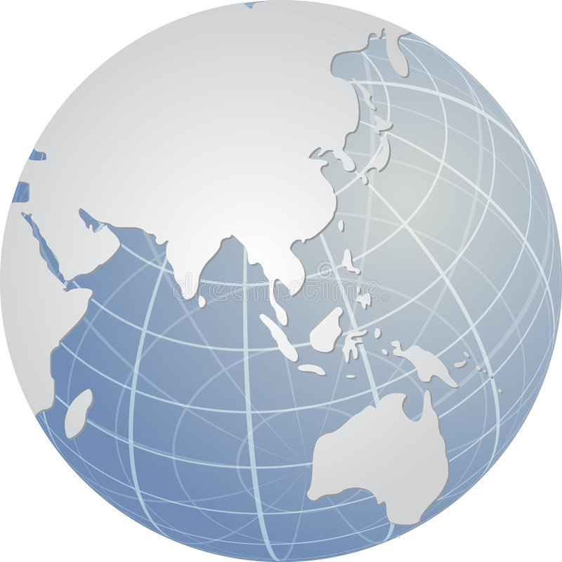 Bol Azië Royalty-vrije Stock Afbeelding