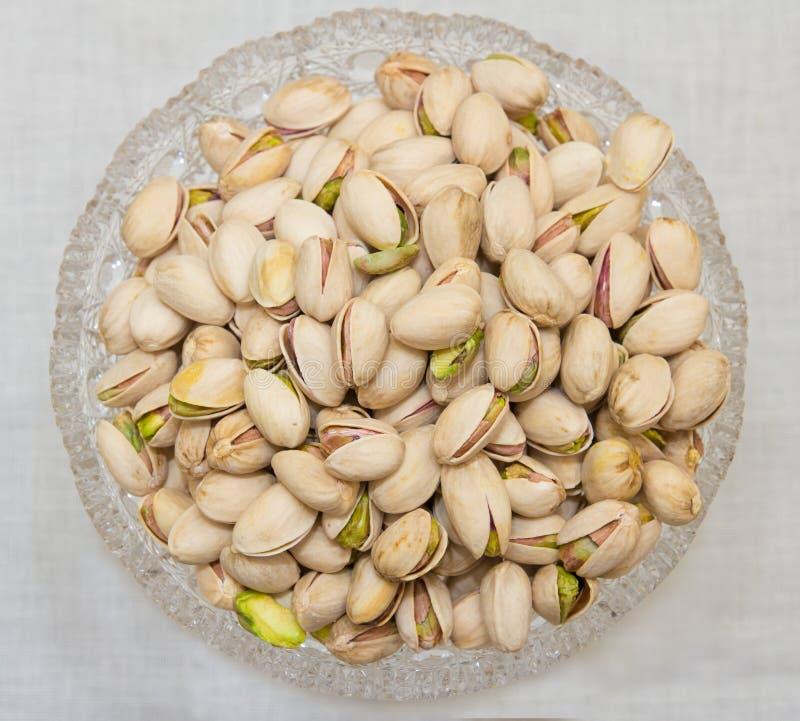 Bol de pistaches photo stock