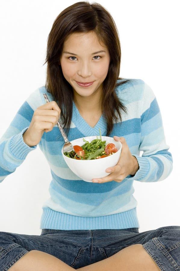 Bol de salade image stock