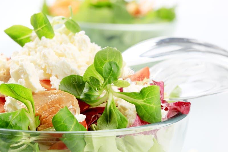Bol de salade image libre de droits