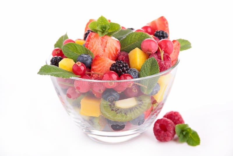 Bol de salade de fruits photo stock