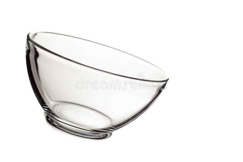 Bol de vidrio vac o aislado en el fondo blanco imagen de - Bol de vidrio ...