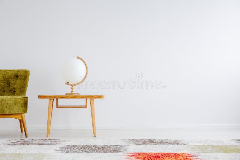 Bol gevormde lamp royalty-vrije stock afbeelding