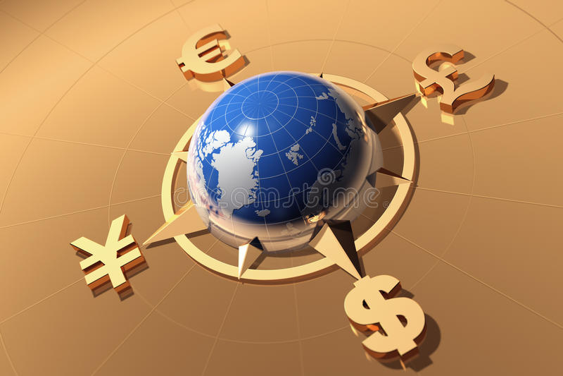 Het concept van het geld vector illustratie