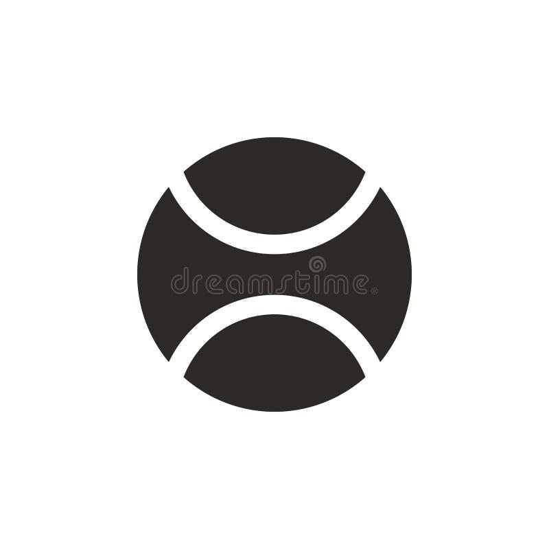 Bola, ícone do basebol - vetor Ilustra??o simples do elemento do conceito de UI Bola, ícone do basebol - vetor conceito infograph ilustração stock