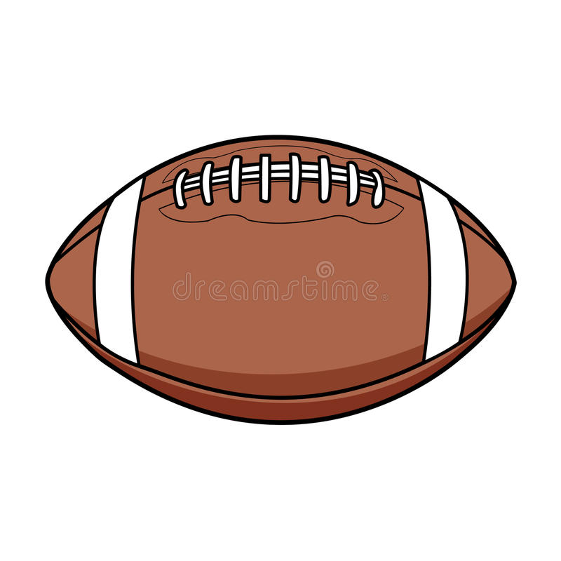 Bola americana libre illustration