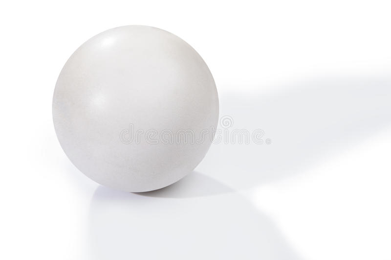 Bola blanca imagenes de archivo