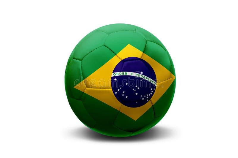 Bola brasileira foto de stock