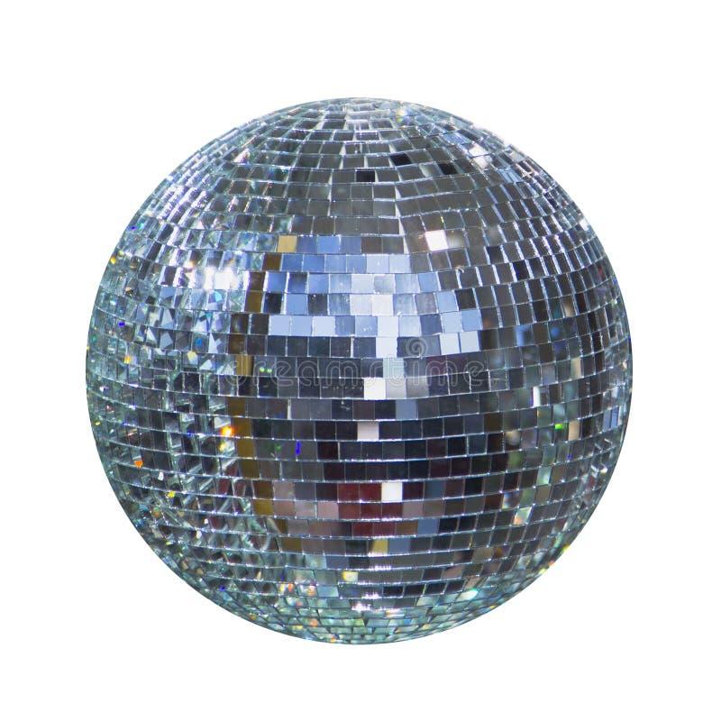 Bola brilhante do disco, esfera fotografia de stock royalty free