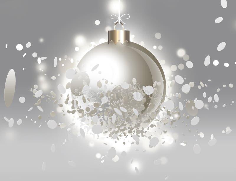 Bola creativa de la Navidad libre illustration