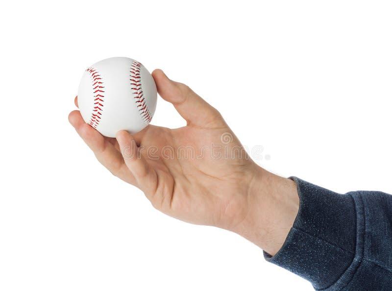 Bola da mão e do basebol fotos de stock royalty free