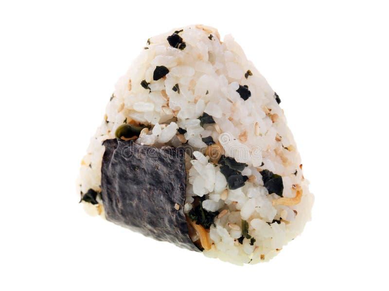 Bola de arroz japonesa imagens de stock