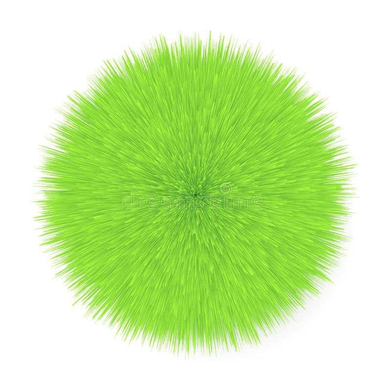 Bola de cabelo macia ilustração stock