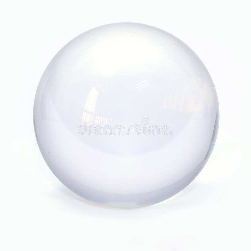 Bola de cristal de la esfera foto de archivo