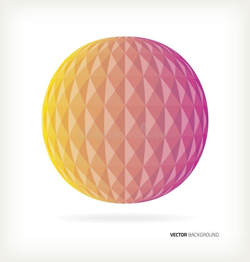 bola de discoteca geométrica 3D libre illustration